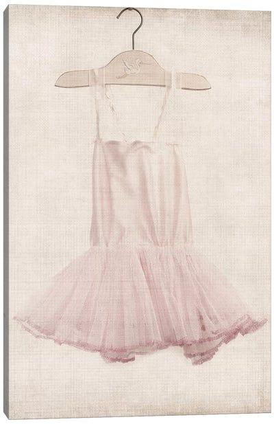 Pink Tutu Ballerina Dress Canvas Art Print