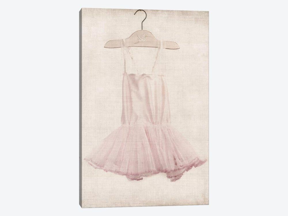 Pink Tutu Ballerina Dress by Saint and Sailor Studios 1-piece Canvas Art