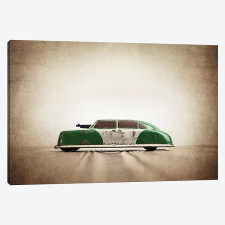 ARGO Green And White Canvas Print #SNT7} by Saint and Sailor Studios Canvas Art