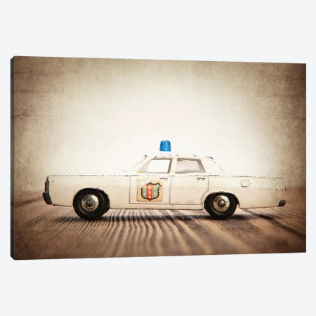 Police  Canvas Print #SNT80} by Saint and Sailor Studios Canvas Artwork