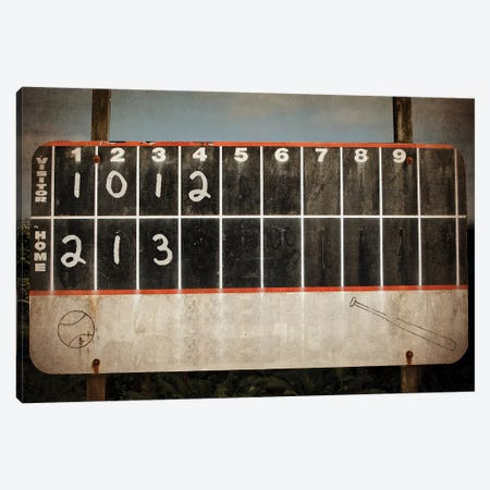 Scoreboard With Score Canvas Print #SNT86} by Saint and Sailor Studios Canvas Art Print