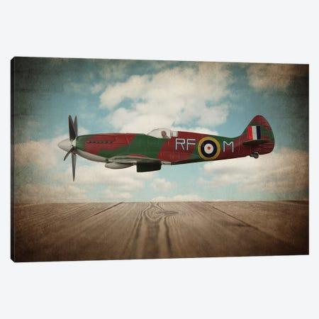 Spitfire Canvas Print #SNT88} by Saint and Sailor Studios Canvas Wall Art