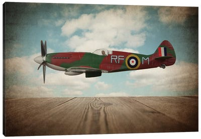 Spitfire Canvas Art Print
