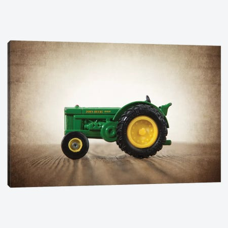Tractor John Deere Canvas Print #SNT92} by Saint and Sailor Studios Art Print