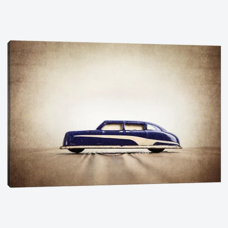 ARGO Purple And White Sedan Canvas Print #SNT9} by Saint and Sailor Studios Canvas Art Print