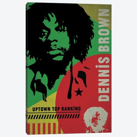 Dennis Brown Canvas Print #SNV114} by Supanova Canvas Print