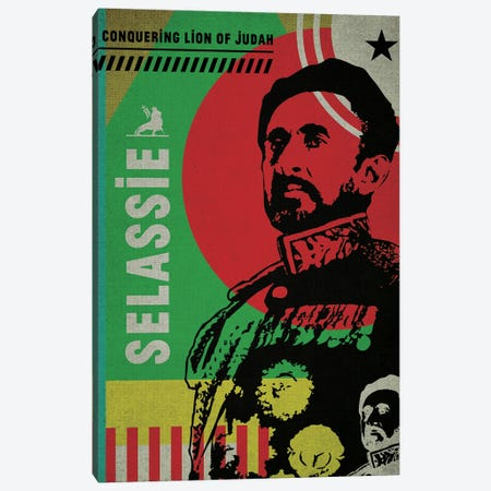 Haile Selassie Canvas Print #SNV116} by Supanova Canvas Print
