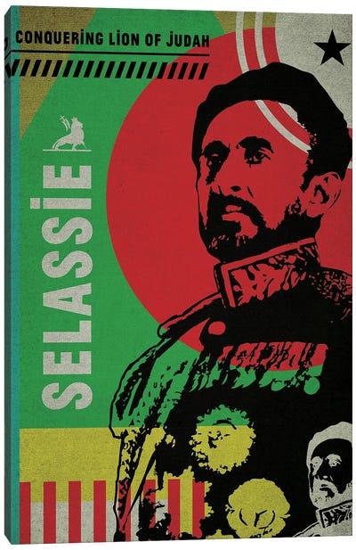 Haile Selassie Canvas Art Print