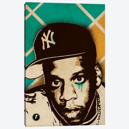 Jay Z Canvas Print #SNV19} by Supanova Art Print