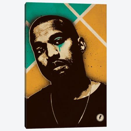 Kanye West Canvas Print #SNV20} by Supanova Canvas Wall Art