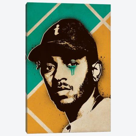 Kendrick Lamar Canvas Print #SNV21} by Supanova Canvas Artwork