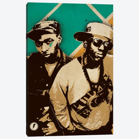 Public Enemy Canvas Print #SNV35} by Supanova Canvas Artwork