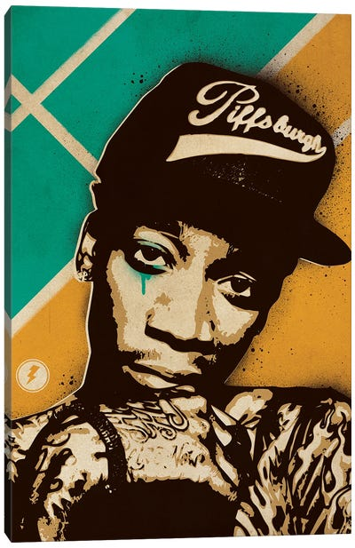 Wiz Khalifa Canvas Art Print