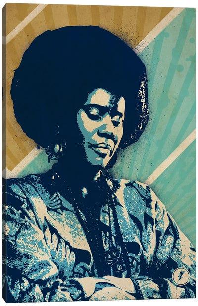 Alice Coltrane Canvas Art Print