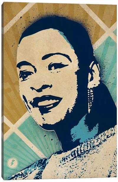 Billie Holiday Canvas Art Print