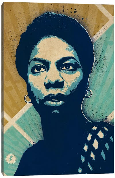 Nina Simone Canvas Art Print