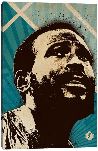 Marvin Gaye Canvas Art Print