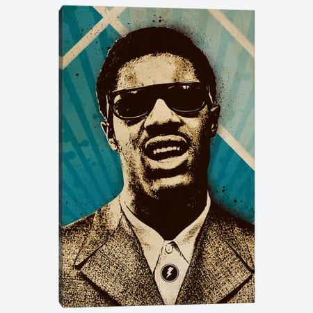 Stevie Wonder Canvas Print #SNV59} by Supanova Canvas Art Print