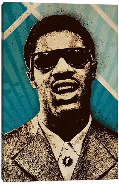 Stevie Wonder Canvas Art Print