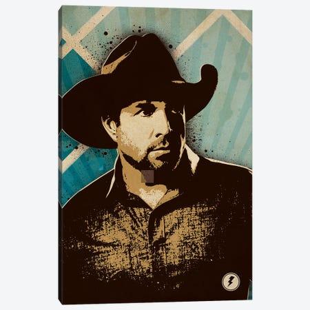Garth Brooks Canvas Print #SNV63} by Supanova Canvas Art
