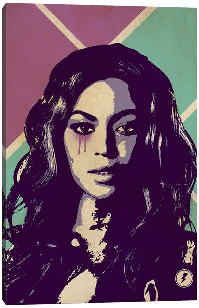 Beyonce Knowles Canvas Art Print