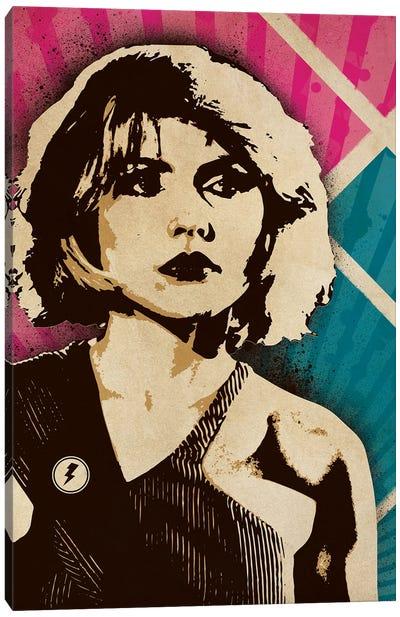 Debbie Harry Blondie Canvas Art Print