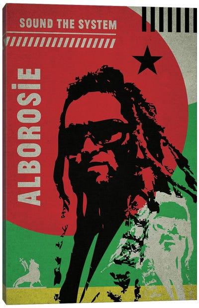Alborosie Canvas Art Print
