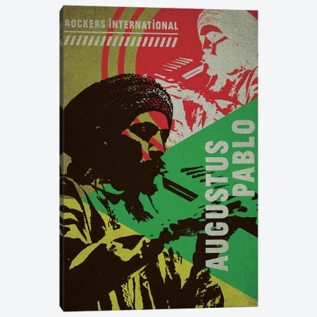 Augustus Pablo Canvas Print #SNV93} by Supanova Canvas Art Print