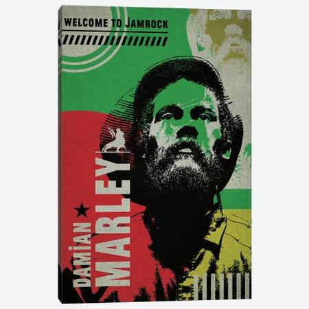 Damian Marley Canvas Print #SNV95} by Supanova Canvas Art