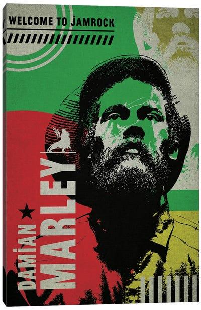 Damian Marley Canvas Art Print