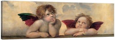 Angeli - Madonna Sistina, Cropped Canvas Art Print