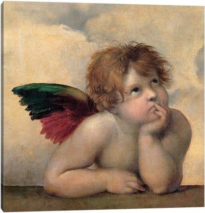 Angelo I - Madonna Sistina Canvas Art Print