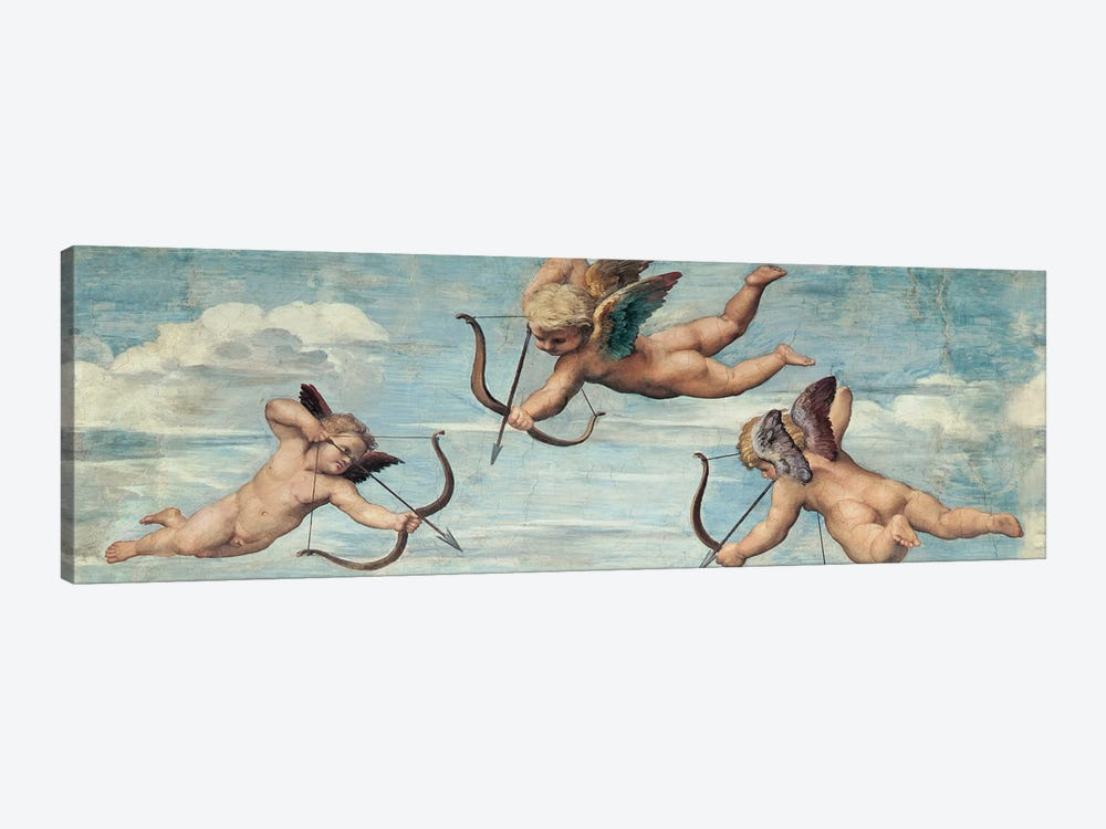 Trionfo di Galatea by Raffaello Sanzio 1-piece Canvas Print