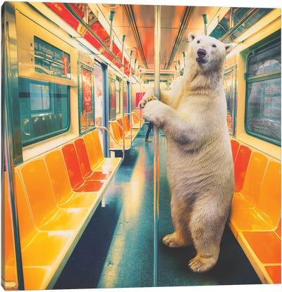 Polar Express Subway Canvas Art Print