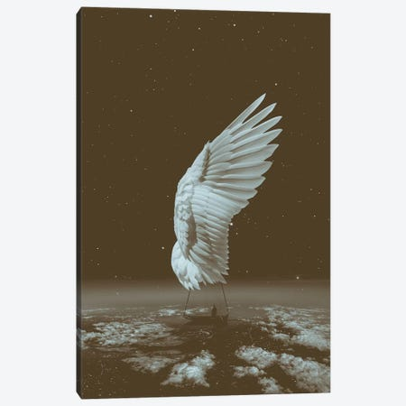 Sail Away Angel Wing  Canvas Print #SOA119} by Soaring Anchor Designs Canvas Art