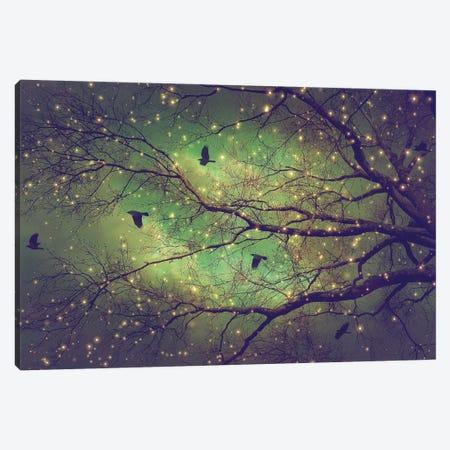 Dusk Meets Dawn Tree Silo Canvas Print #SOA25} by Soaring Anchor Designs Canvas Art Print