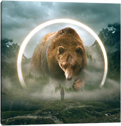 Aegis Bear I Canvas Art Print