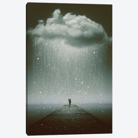 Even The Sky Cries  Canvas Print #SOA34} by Soaring Anchor Designs Canvas Wall Art