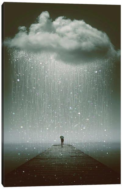 Even The Sky Cries  Canvas Art Print