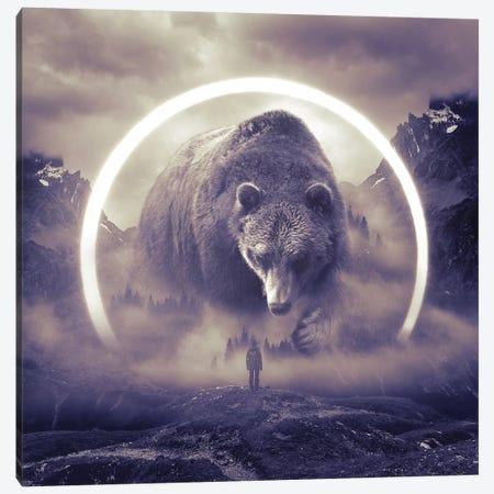 Aegis Bear II Canvas Print #SOA3} by Soaring Anchor Designs Canvas Wall Art