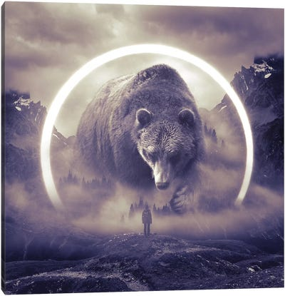 Aegis Bear II Canvas Art Print