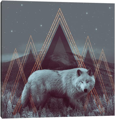 In Wildness - Wolf I Canvas Art Print
