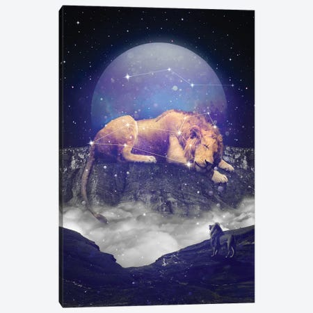 Leo Major Minor - Mountain Canvas Print #SOA43} by Soaring Anchor Designs Canvas Wall Art