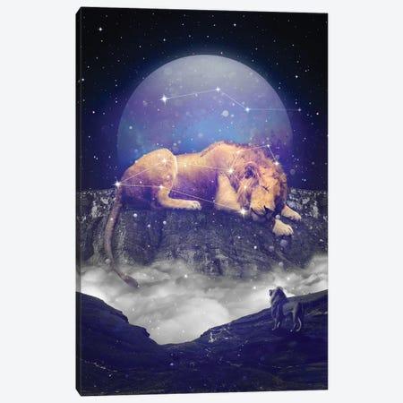 Leo Major Minor - Mountain Canvas Print #SOA43} by Soaring Anchor Designs Canvas Wall Art