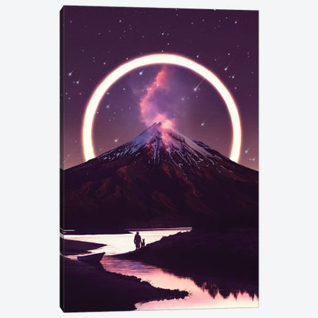 Lueur - Mountain Canvas Print #SOA47} by Soaring Anchor Designs Art Print