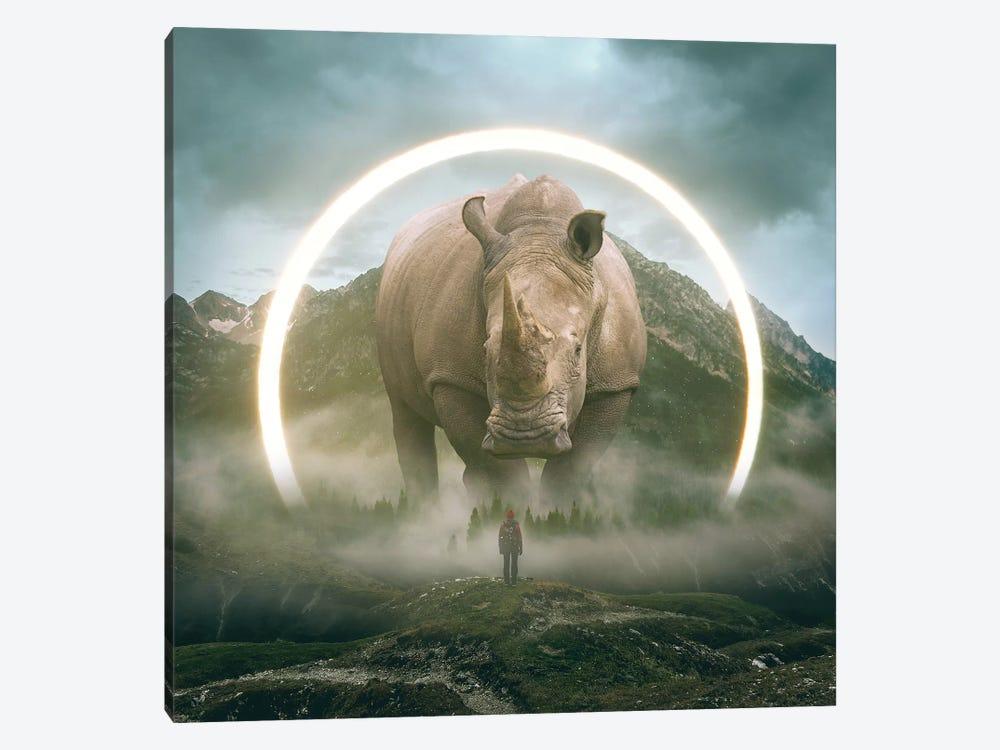 Aegis Rhino I by Soaring Anchor Designs 1-piece Canvas Art