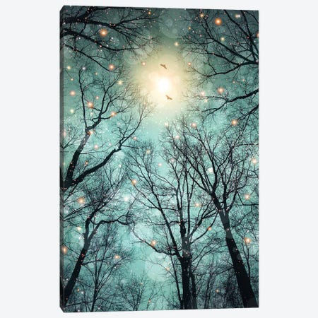 Mint Embers - Trees Canvas Print #SOA51} by Soaring Anchor Designs Canvas Art Print
