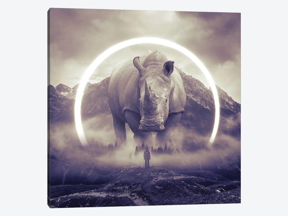 Aegis Rhino II by Soaring Anchor Designs 1-piece Canvas Art Print