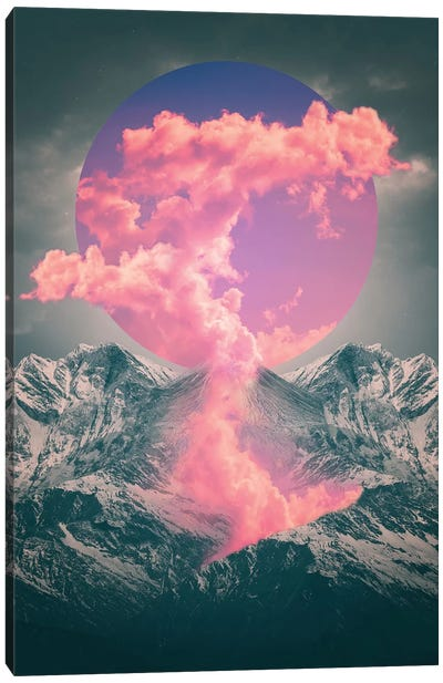 Ruptured Soul - Volcano Canvas Art Print