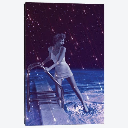 Space Dip Canvas Print #SOA71} by Soaring Anchor Designs Canvas Art Print